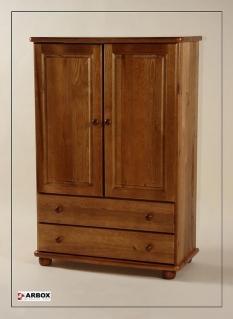 Dřevěný prádelník