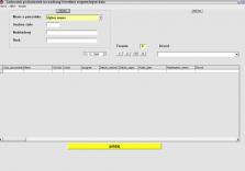 Systém sledovania nadčasov Overtime System