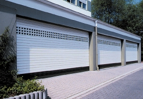 Průmyslová garážová vrata rolovací