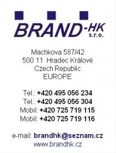 BRAND - HK s r.o.