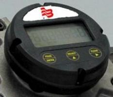 Prietokomery s oválnymi kolesami - Ukazovateľ MN LCD