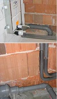 Kanalizace a montáže