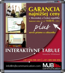 Interaktívna tabuľa MJB IQ Board