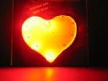 Srdce svítící