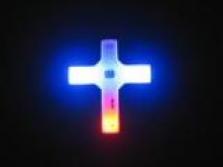Kříž svítící