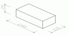 Betonové cihly a tvárnice