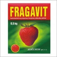Hnojivá - Fragavit 500g prášk.hnojivo na jahody NPK 16-6-23 + mikroelementy