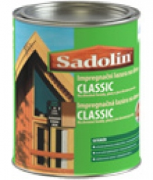 Impregnačná lazúra na báze alkydovej živice na drevo - Sadolin Classic