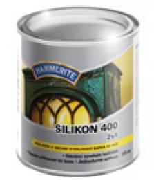 Základná a vrchná vypaľovacia farba - Hammerite silikón 400 2v1