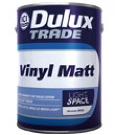 Vodou riediteľná vinylová farba na steny a stropy pre použitie v interiéri - Dulux vinyl matt, light a space
