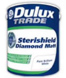 Vodou riediteľná hygienická farba - Dulux sterishield diamond matt