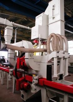 Automatické tryskací stroje průběžné