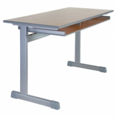 Žákovský stůl - Model SUP - pevná pracovní plocha, výškově nenastavitelný