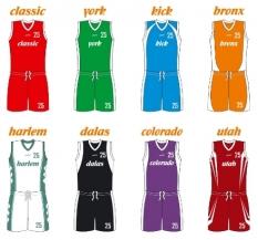 Basketbalové dresy