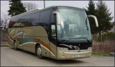 Doprava autobusem Scania Beulas Aura pro 54 osob