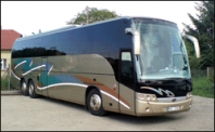 Doprava autobusem Volvo Beulas Aura pro 60 osob