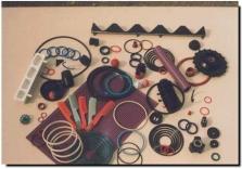 těsnění do různých hydraulických a pneumatických zařízení