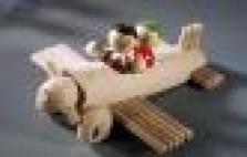 Dřevěné letadlo jednoplošník