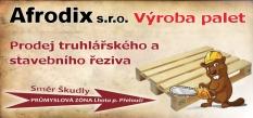 Afrodix s.r.o. - výroba dřevěných palet a obalového materiálu ze dřeva