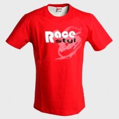 Dětské tričko Race styl červené