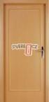 Vnitřní dveře Exklusiv