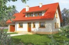 Typový projekt - rodinný dům Calinka