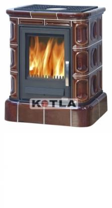 Kachle teplovodné - Abx Marina keramický sokel