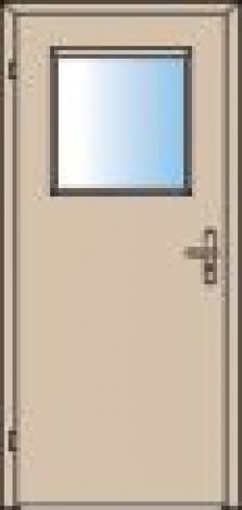 Mechanicky odolné dveře Lipno