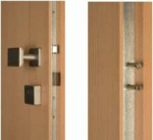 Bezpečnostní dveře dřevěné