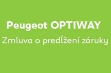 Peugeot Optiway - Predĺženie záruky