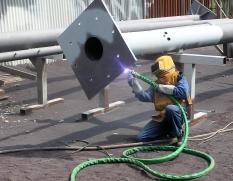 Elektroobloukové metalizační zařízení