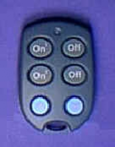 Automatizačné zariadenia -     Kľúčenkový diaľkový ovládač KR22E