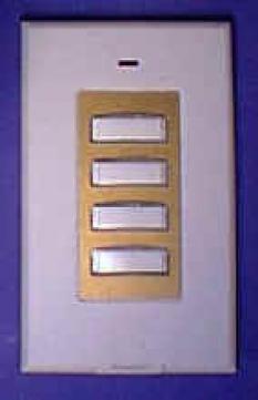 Bezdrôtový nástenný ovládací panel