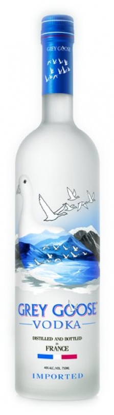 Grey Goose vodka 40% 1,00 l