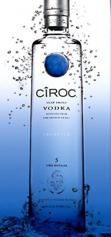 Ciroc vodka 40% 1,0l