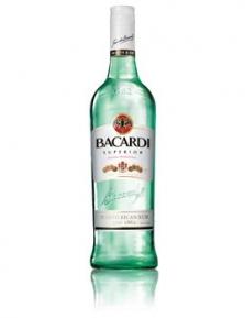 Rum Bacardi Carta Blanca 37,5% 1l