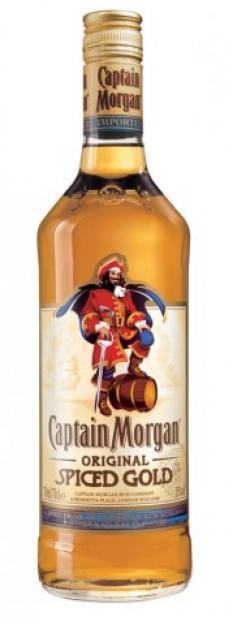 Rum Captain Morgan Spiced Gold 35% 1l