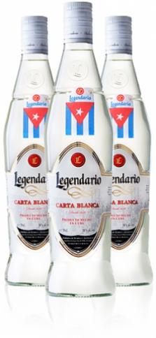 Rum Legendario Ron Carta Blanca 40% 0.7l