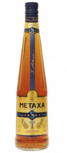 Brandy Metaxa 5* 38% 1l