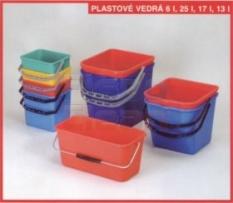 Plastové vedrá