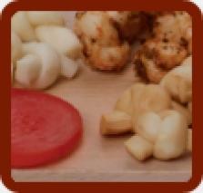 Syrové uzlíky čerstvé, údené, gyros, cesnak, pikant
