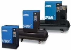 Skrutkové kompresory Spinn