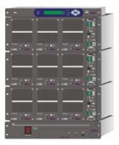 Napájacie zdroje rad DNX s paralelným radením modulov