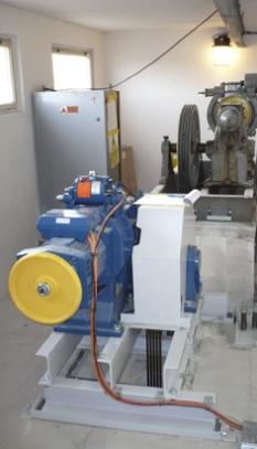 Modernizační prace - strojovna