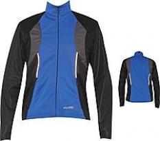 Pánska zateplená bunda s odopínateľnými rukávmi pre cyklistiku BWT1447P