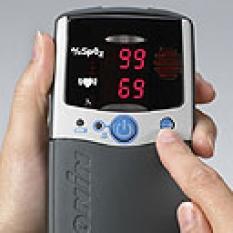 Ruční pulzní oxymetr Nonin PalmSat 2500