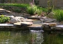 Vodné záhrady a prvky v japonskom štýle