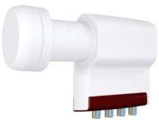 Satelitný quad konvertor Inverto red Extend