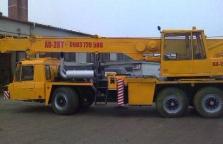 Žeriavnicke práce AD 28 ton, AD 20 ton, Terex 35ton