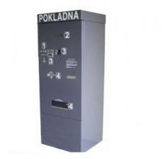 Parkovacie systémy - automatická pokladňa